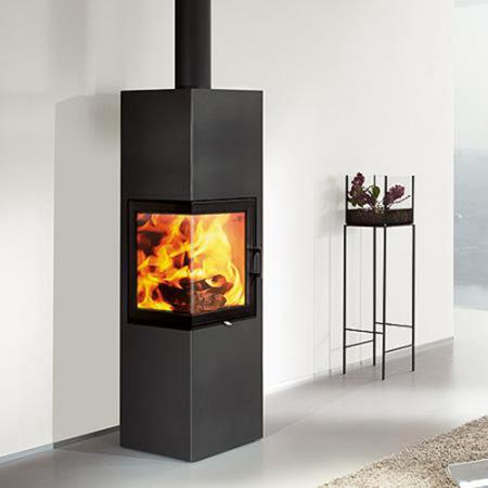 kaminofen austroflamm slim 2 0 raumluftunabh ngig 4 kw ebay. Black Bedroom Furniture Sets. Home Design Ideas